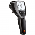 Testo 0560 8353, 835-H1 50: 1 Infrared Thermometer and Moisture Meter
