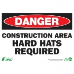 """Zing Green Products 2122A, Eco Safety Sign """"Danger Construction …"""""""
