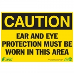 """Zing Green Products 2106, Eco """"Danger Keep Out"""" Plastic Safety Sign"""