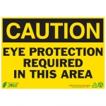 """Zing Green Products 2108, Eco """"Danger Moving Machinery"""" Safety Sign"""
