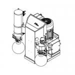 Welch 115244-01, LVS 310 Z ef Pump, 115V 50/60 Hz, 8 bar