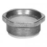 Morris 14498, 3-1/2″ Rigid Nipple with Insulated Throat, Zinc Die Cast