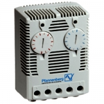 Pfannenberg 17142000010, FLZ 542 Twin Thermostat, 32 to 140 deg F