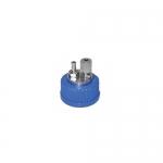 Bellco Glass 1965-45200, SST Compression & Hose Barb Cap Assembly