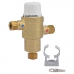 Cash Acme 24524, HG145 3/8″ Lead Free Thermostatic Mixing Valve