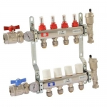 Sharkbite 24931, 4-Port Radiant Heating Manifold