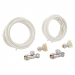 Sharkbite 25088, Toilet Connector Kit with Angle Stop in Retail Bag