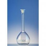Hirschmann 282P500, EM-Techcolor Measuring Flask, ASTM with PE Stopper