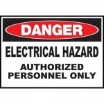 """Zing Green Products 2981S, Safety Sign """"Danger, Electrical Hazard"""""""