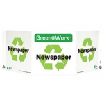 """Zing Green Products 3022, Green at Work Sign """"Newspaper"""""""