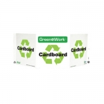 """Zing Green Products 3024, Green at Work Sign """"Cardboard"""""""