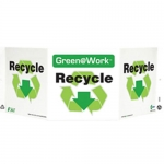 """Zing Green Products 3039, Green at Work Sign """"Recycle"""""""