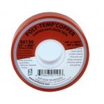 Anti-Seize Technology 36136, Poly-Temp Copper Tape, 1/2″ x 600′