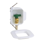 1//4 Square CPVC Low Lead Ice Maker Outlet Box Pack of 6 pcs Oatey 39143