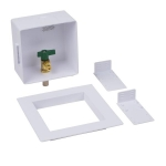 1//4 Turn CPVC Round Low Lead Ice Maker Outlet Box Pack of 6 pcs Oatey 39208