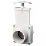 Valterra 4202, 2″ PVC White Slip x Spigot Ends Gate Valve