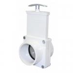 Valterra 4303, 3″ PVC White Spigot x Spigot Ends Gate Valve