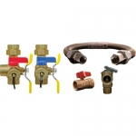 Webstone 44443WCOM, Water Heater Installation Valves Kit