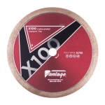 Diamond Vantage 4506ATWX1, X100 Tile Blade Wet, Heavy Duty Grade