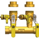 Webstone 48354-44, FIP Run x Hydro-Core Double Ball Drain Kit