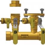 Webstone 48754-44, Forged Brass Hydronic Valve Manifold