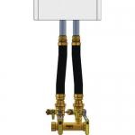 Webstone 4FK4-WIF, FIP x Hydro-Core Near Boiler Piping Kit