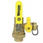 Pack of 2 pcs 1-1//2 SWT Lead-Free Brass Union Ball Drain Valve Webstone 50436W