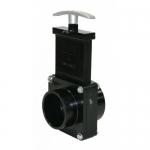 Valterra 5202, 2″ ABS Black Spigot x Slip Ends Gate Valve
