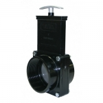 Valterra 5307, ABS Black FPT x FPT Ends Gate Valve w/ Paddle & Handle