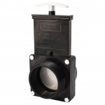 Valterra 5308, ABS Black FPT x MPT Ends Gate Valve w/ Paddle & Handle