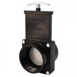 Valterra 5309, ABS Black FPT x Slip Ends Gate Valve w/ Paddle & Handle