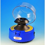 Globe Scientific 545B, Mini-Centrifuge with 2 Rotors, Blue, 115V