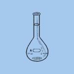 PYREX 5720-100, Bates Sugar Analysis Volumetric Flask 100ml
