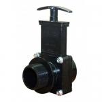 Valterra 7105, 1-1/2″ ABS Black MPT x Slip Ends Gate Valve