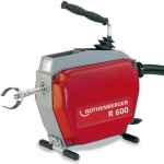 Rothenberger 72869V, R 600V Drain Cleaning Machine with Guide Hose