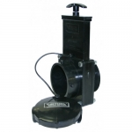 Valterra 7342, 3″ ABS Black MPT x Bay Ends Gate Valve with Cap
