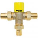 Webstone 74103W, Lead-Free Thermostatic Mixing Valve