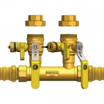 Webstone 88354-44, 1″ Hydro-Core Double Ball Drain Kit
