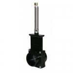 Valterra 9201S, 2″ ABS Black Slip x Slip Ends Pneumatic Gate Valve