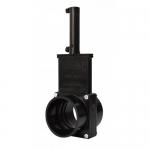 Valterra 9301P, ABS Black Slip x Slip Ends Pneumatic Gate Valve