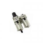 STC AC4010-04DM, Bowl Drain Stacking Filter Regulator Lubricator