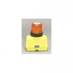 North American Signal Company BAR300-A, 12V Plastic Barricade Strobe