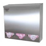 Bowman Dispensers BK313-0300, Bulk Dispenser, Tall Triple Bin