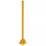 Vestil BOL-FD-36-Y, BOL-FD-Series Fold-Down Steel Bollard Yellow 42 In