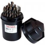 Cle-Force C69385, Drill Bit Set, Jobber Drill, Round Plastic Index