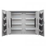 Barska CB13240, 480 Key Lock Box w/ White Tags Grey