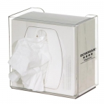 Bowman Dispensers CL002-0111, Task Wipe Dispenser, Small, Keyholes