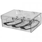 Bowman Dispensers CP-072, Eyewear Dispenser, Hinged Lid, Keyholes