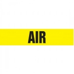 """Accuform CRPK119CTF, 5-1/4″ to 6″ Pipe Marker """"Air"""" Yellow"""