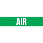 """Accuform CRPK121CTF, 5-1/4″ to 6″ Pipe Marker """"Air"""" Green"""